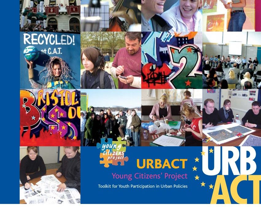 URBACT –  Tool kit for youth participation in urban policies called